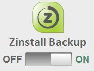 Zinstall Time Machine Backup On